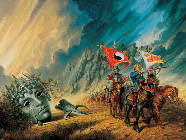 File:The path of daggers cover by darrell k sweet by arcanghell-d4lddy8.jpg