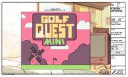 Rose's Room Golf Quest Mini Modelsheet 1