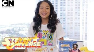 Steven Universe Unboxing With Shelby Rabara Cartoon Network