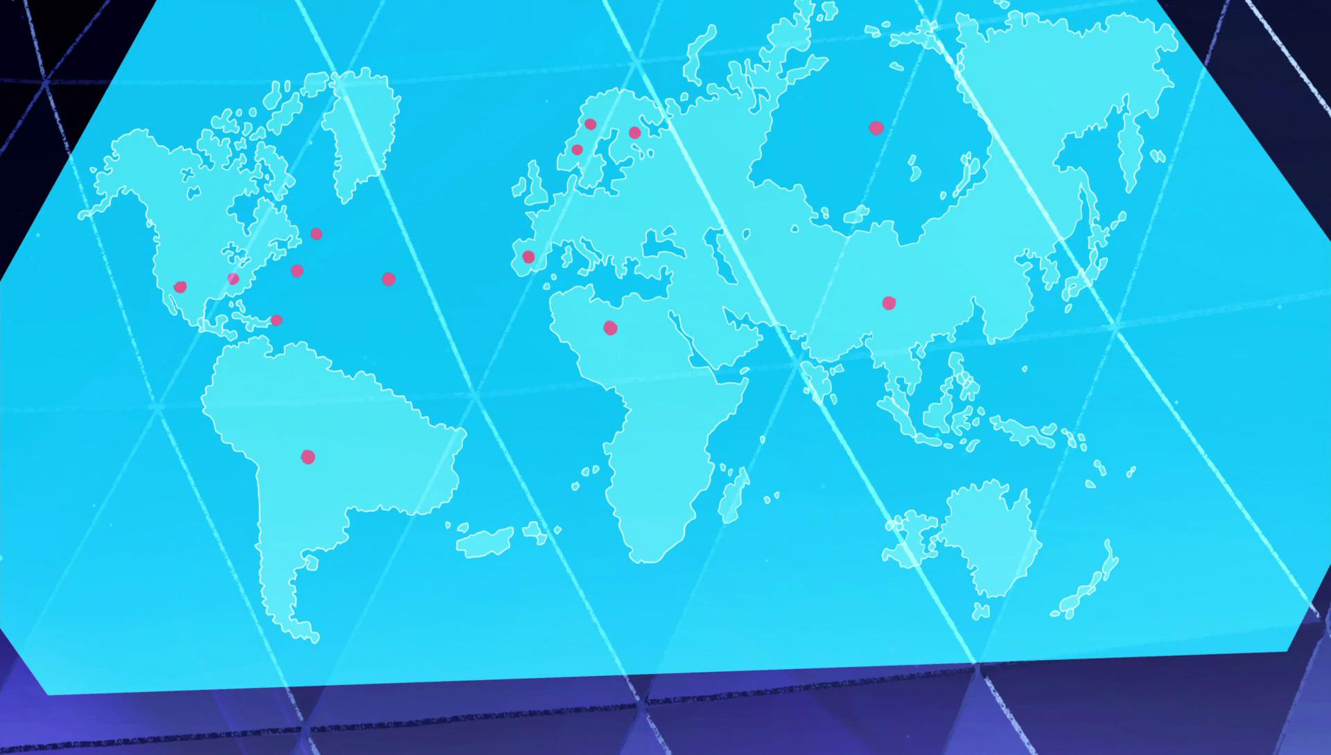 We've got a labeled world map from the art book!!! : stevenuniverse