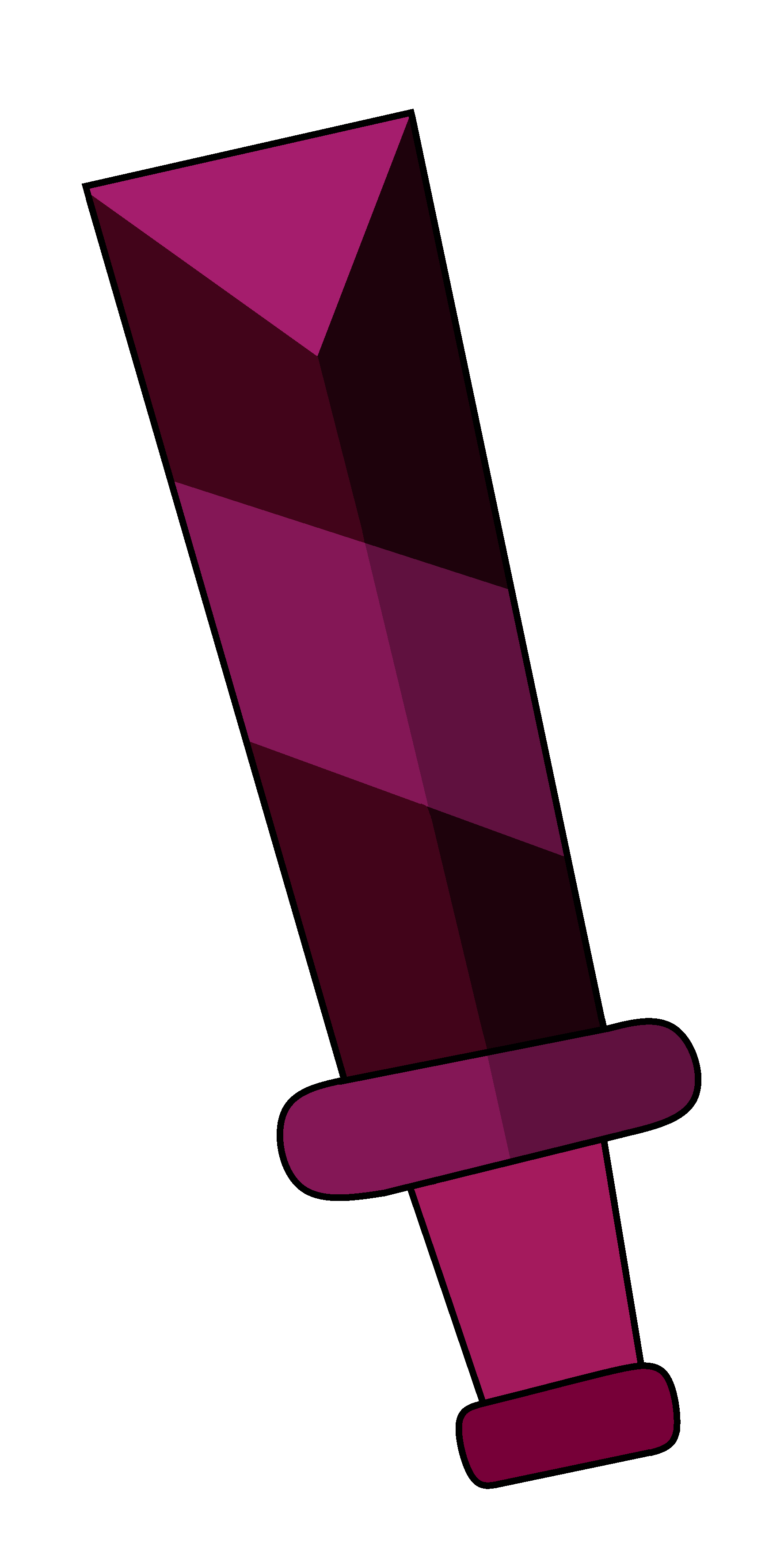 Ruby Eyeball Chisel by Cocoa