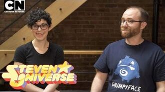 CN PLAYIN Save the Light Interview with Rebecca Sugar & GrumpyFace Cartoon Network