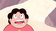 Steven's Lion Steven Terrified