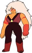 Jasper stands