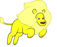Yellow Lion by AP