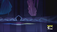 Pink and Blue Diamond Moon Base Pictures