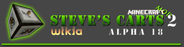 File:Steve's Carts Wikia LogoA18.png