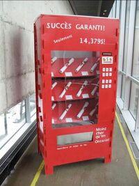 Diploma-vending-machine
