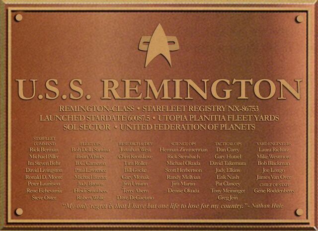 File:USS Remington Dedication Plaque.jpg