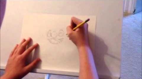 Speed Drawing 2 Experiment 626 AKA Stitch!