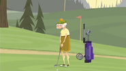S1 E14 Chester plays golf
