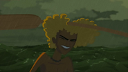 S1 E6 Brosephs hair protects his head