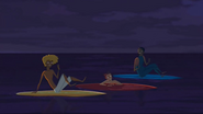 """S2 E8 Broseph and Johnny take their feet out of the water Broseph says """"Thought it felt warmer"""""""