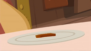 S1 E16 Mr. Marvin prepares to eat his one fish stick