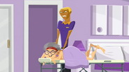 S2 E6 Bummer gives Nana a massage