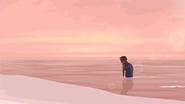 S1 E15 Johnny walks back onto the shore