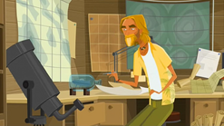 S1 E11 The Kahuna goes back to working on his object in a bottle