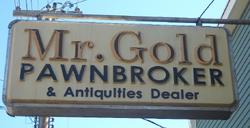 Mr Gold Pawnbroker & Antiquities Dealer