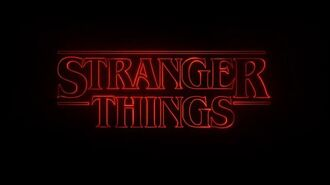 Stranger Things Main Title Sequence