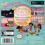 SSC Sweet Dreams GBA back cover