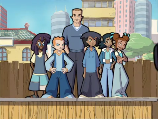 File:Fede, Samira, Gabriel (Brains) Eloise, Sebastian (Tag) and Jeremy 003.png