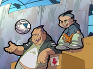 Head Butt and Cartoon