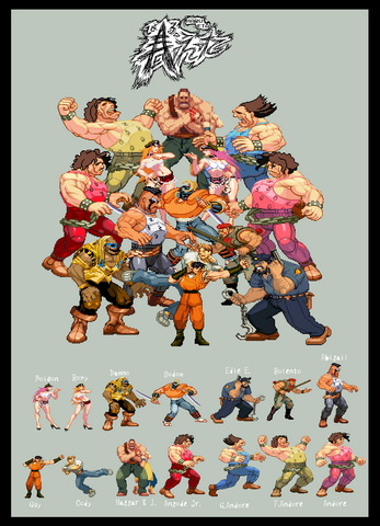 File:Final fight Sprites by HaruEta-1-.png