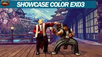 Street Fighter V Costumes School, Work, CPT2017 Color EX03 (Datamining)
