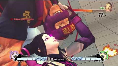 Super Street Fighter IV - Juri - Kaisen Dankairaku