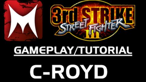 C-Royd Teaches Third Strike How to Use Denjin Hadouken (Street Fighter 3rd Strike Tutorial)