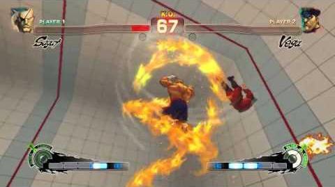Super Street Fighter 4 - Sagat Ultra 1 Tiger Destruction