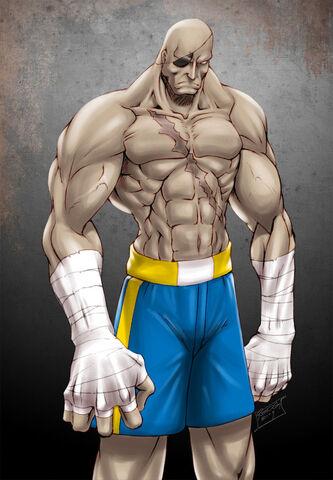 File:Street Fighter Sagat by gilas01.jpg