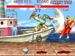 Street Fighter II (arcade) screenshot