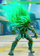 SFV Necalli Story Costume in V-Trigger Mode