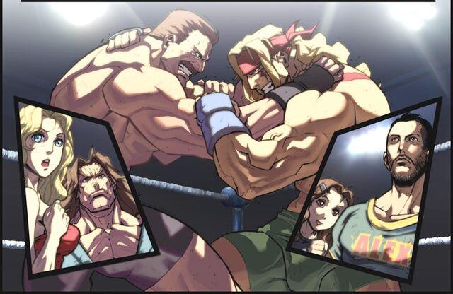 File:Fighting Evolution ALEX by UdonCrew.jpg