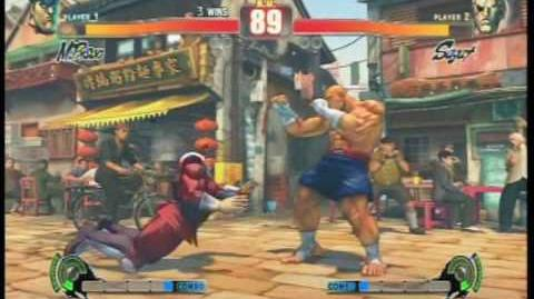Street Fighter 4 All Focus Attacks