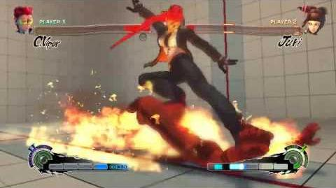 Super Street Fighter 4 - Crimson Viper Ultra 2 Burning Dance