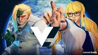 Street Fighter 5 School uniforms (Nash R.Mika and Ibuki )