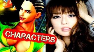 Street Fighter 5 Characters - Street Fighter V Cast - Street Fighter 5 Voice Actors VoiceActors