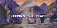 Keeping the Peace