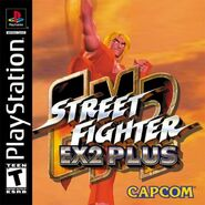Street Fighter EX2 PlayStation cover