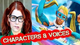 Street Fighter 5 Characters Voices English - Street Fighter V Cast - Street Fighter Quotes