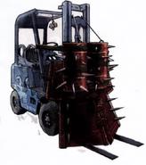 Blue Ballers Forklift