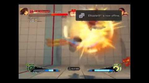 Super Street Fighter 4 (Arcade Edtition) - Yang's Raishin Mahhaken