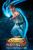 Ryu in Street Fighter Resurrection Promo