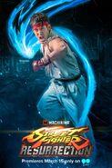 Ryu in Street Fighter Resurrection Promo
