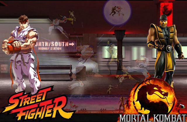 File:Scorpion vs Ryu... FIGHT.jpg