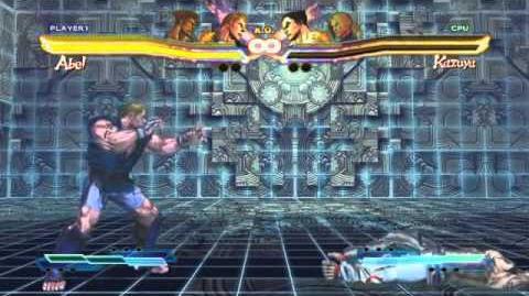 Abel's Super Art and Cross Assault in Street Fighter X Tekken