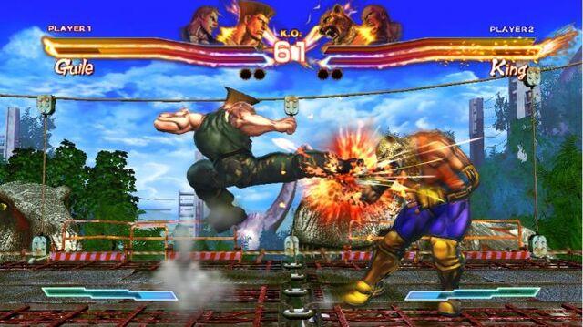 File:Guile kicks king.jpg