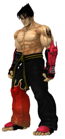 File:Jin kazama stare left by dirtscan-d53qw7m.png